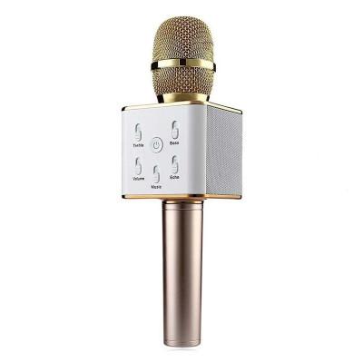 Microfon karaoke fara fir Q7, baterie incorporata foto