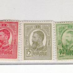 Romania   1908 - 1918   lot  Carol  I     9  valori