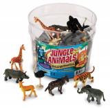 Set pentru sortat - Animalute din jungla PlayLearn Toys, Learning Resources