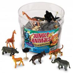 Set pentru sortat - Animalute din jungla PlayLearn Toys