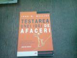 TESTAREA UNEI IDEI DE AFACERI - JOHN W. MULLINS