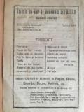 reclama Uzinele de fier si Domeniile Resita , 1922,  16 x 23 cm, Anina, Oravita
