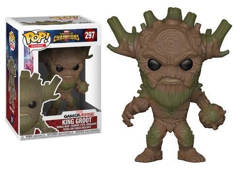 Figurina Funko Pop! King Groot Marvel Contest of Champions
