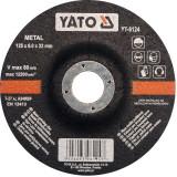 Disc slefuit metal 125 x 6 x 22 mm Yato YT-6124