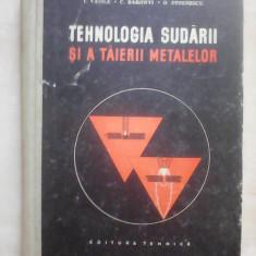 Tehnologia sudarii si a taierii materialelor - I. VASILE , C. BAKONYI