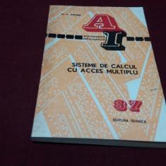 M W WILKES - SISTEME DE CALCUL CU ACCES MULTIPLU 1974