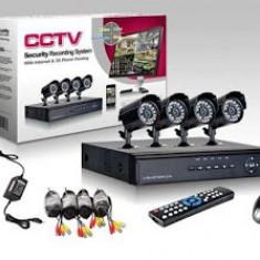 Sistem supraveghere CCTV kit DVR - 4 camere