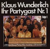 VINIL Klaus Wunderlich – Ihr Partygast Nr. 1 - VG+ -