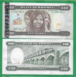= ERITREA - 10 NAKFA – 1997 - UNC   =