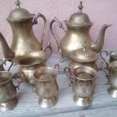 Serviciu/cafea/Argintat/