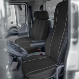 Huse scaun camion dedicate DAF LF set 1+2 locuri - Negru Gri, KEGEL-BLAZUSIAK