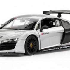Masina Rastar, Audi R8 1:14 RTR cu Telecomanda - Alb