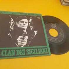 VINIL ENNIO MORRICONE-IL CLAN DEI SICILIANI FOARTE RAR!!!AMP74 ITALY STARE FB