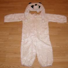 Costum carnaval serbare animal urs panda pentru copii de 4-5 ani, Din imagine