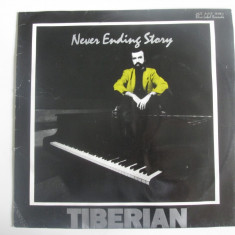 Rar! Disc vinil Eurostar 1992 Mircea Tiberian:Never Ending Story-Eticheta verde
