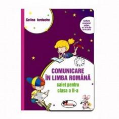 Caiet comunicare in limba romana pentru clasa a II-a ( mov)
