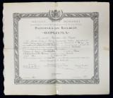 POLITEHNICA DIN BUCURESTI , DIPLOMA DE ABSOLVENT , MARTIE 1944