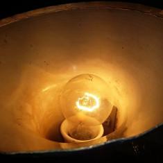 Lampa veche de birou cu brat flexibil retro abajur aluminiu,functionala,T.GRATUI
