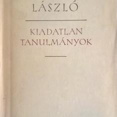 Németh László - Kiadatlan tanulmanyok Vol.I-II - 1016 (carte pe limba maghiara)