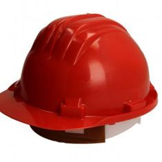 Casca protectie rosie