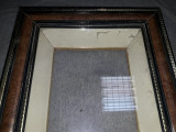 Rama veche de tablou,rama groasa si lata de tablou,T.GRATUIT