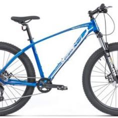 Bicicleta Pegas Drumuri Grele 18.5, Cadru 18.5inch, Roti 27.5inch, 10 Viteze (Albastru)