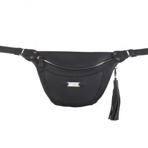 Black Multifunctional Limited Edition Belt Bag