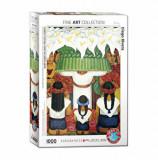Cumpara ieftin Puzzle Eurographics - Diego Rivera: Flower Festival, 1000 piese
