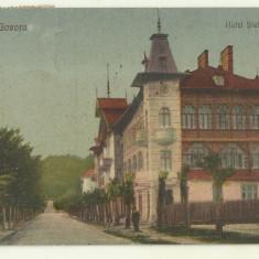 cp Govora : Hotel Stefanescu - circulata 1924, timbre
