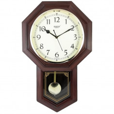 Ceas de perete cu pendul? RIKON RK-29 Brown