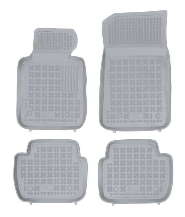 Covorase presuri cauciuc Premium stil tavita Bmw Seria 1 E87 2004-2011 Gri