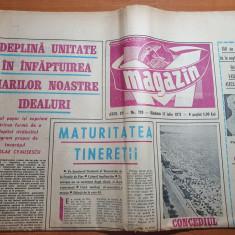 magazin 17 iulie 1971-150 ani  nasterea lui vasile alecsandri,portile de fier
