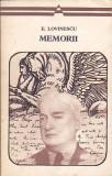 E. LOVINESCU - MEMORII