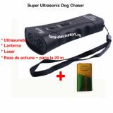 Aparat cu ultrasunete impotriva cainilor Super Ultrasonic DogChaser, Oem