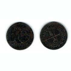 Germania 1919 - 10 pfennig Naumburg