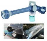 Set Pistol Multifunctional si Recipient Detergent pentru Spalat Masina, Casa sau Gradina