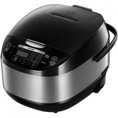 Multicooker HMCK-5BK, 5 L, Vas antiadeziv, 11 programe, Timer, Control Touch, Functie mentinere la cald, Negru