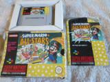 Vand jocuri SNES , super nintendo, colectie,box,cutie , SUPER MARIO ALL STARS