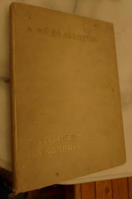 Pictori si sculptori unguri/A mű és alkotója/Pittori e Scultori D'Ungheria 1933 foto