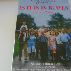 as it is in heaven - dvd