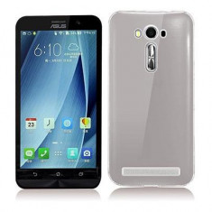 Husa Silicon Asus Zenfone 2 Laser ze500kl Clear Grey Ultra Thin Vetter