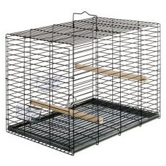 Cușcă Ferplast pentru păsări, cu accesorii 37,5 x 40 x 51