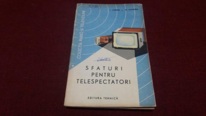I CIPERE - SFATURI PENTRU TELESPECTATORI