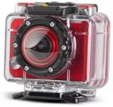 Camera Video de Actiune Energy Extreme, Full HD, 5 MP, Rezistenta la apa (Rosie)