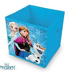 Cutie pliabila textila pentru depozitare Frozen