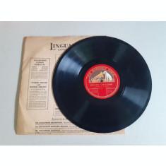 Disc gramofon, interbelic, Traviata (deteriorat)