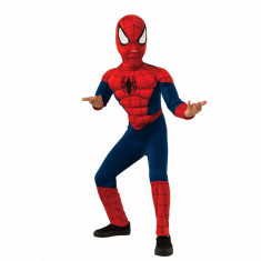 Costum Deluxe Spiderman Ultimate cu muschi Marvel S 3 4 ani