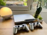 Consola Playstation 3 Slim Modat 320 GB cu 34 jocuri GTA 5 FIFA 19 PS3 GRI
