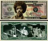 USA 1 Million Dollars Jimmy Hendrix  UNC