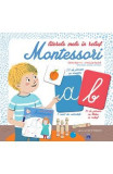 Literele mele in relief. Montessori - Celine Santini, Vendula Kachel